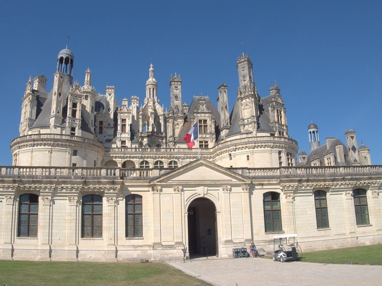 Chambord Chateau, probably the biggest and most extravagant of them all.
