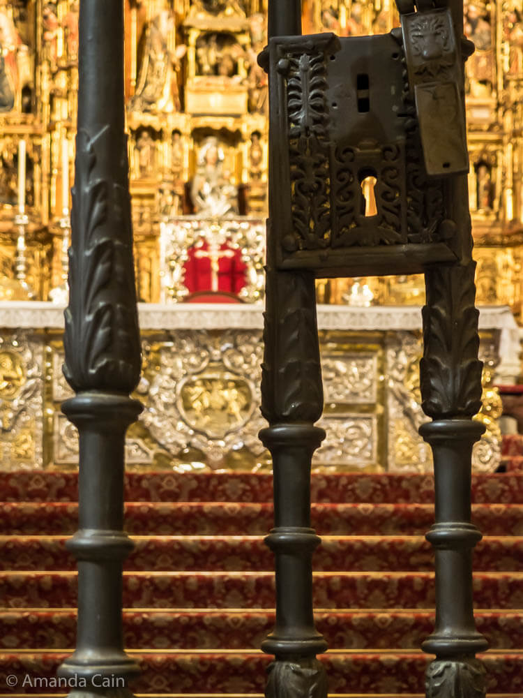 The High Altar of Seville Cathedral.