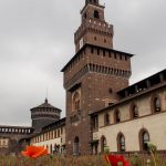 Sforza Castle, built to protect the rulers of Milan.