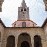 The ancient Euphrasian Basilica in Poreč, the oldest parts of it are 1500 years old.