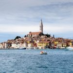 The picturesque old town of Rovinj in Croatia.