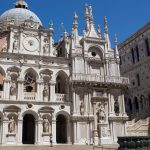 Inside the grand courtyard of the Doge's Palace.