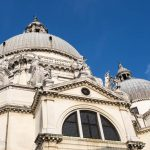 Santa Maria della Salute, one of the many extravagant churches in Venice.