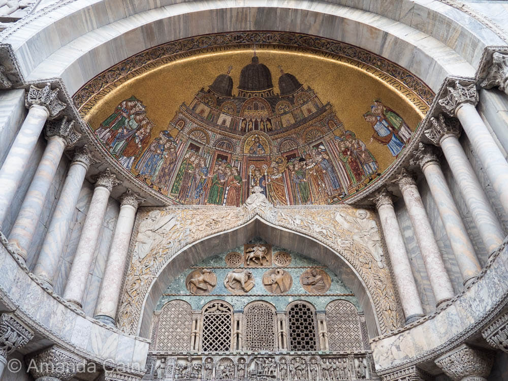 St Mark's Cathedral is one of the most beautifully extravagant buildings in the world.