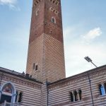 Lamberti Tower in Verona.