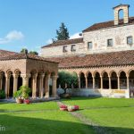 The cloister of San Zeno in Verona.