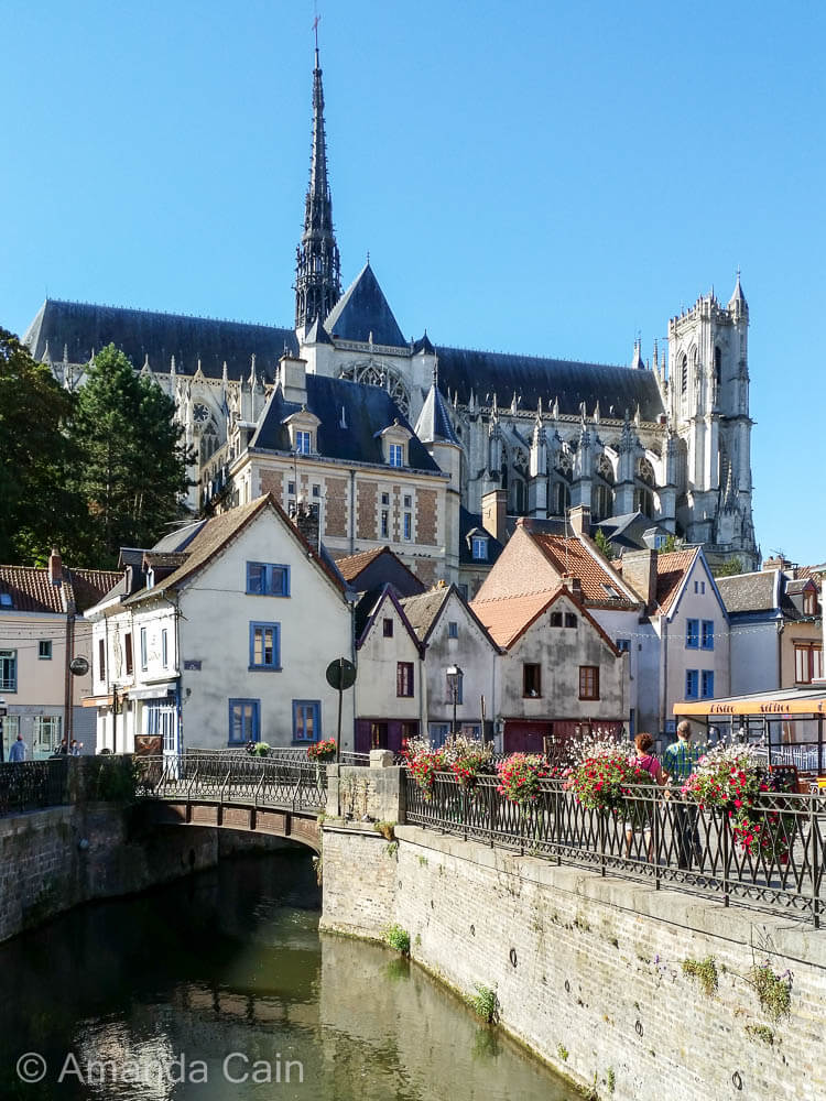 The charming canals of Amiens.