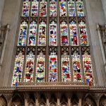 The high altar of Bath Abbey.