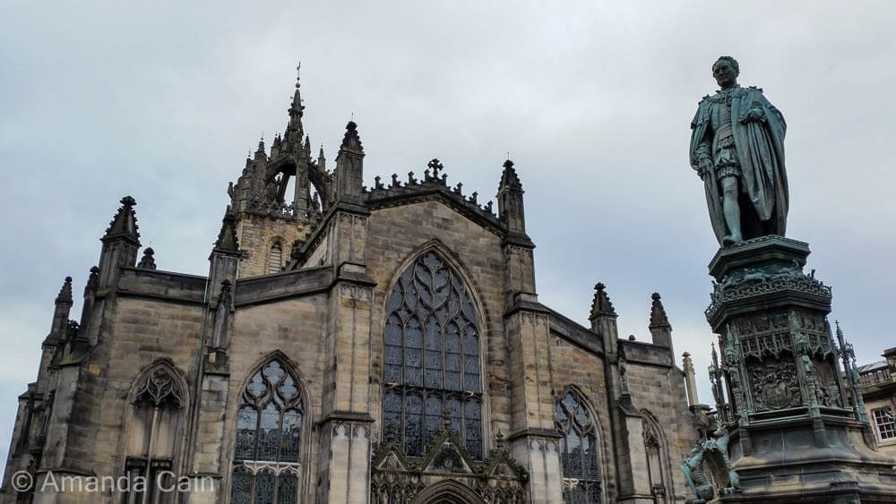 Edinburgh's St Giles Cathedral.