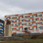 Barentsburg is a remote Russian town in Svalbard in a bit of a time warp. It has renovated buildings for tourists but is still proud of its communist heritage.