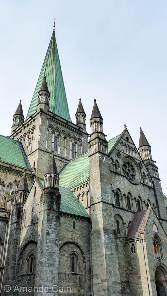 Nidaros Cathedral in Trondheim.