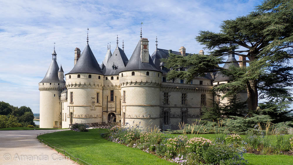The fairy tale castle of Chaumont on the Loire River.