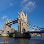 London's impressive Tower Bridge.