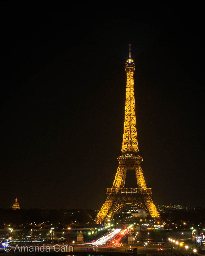 Paris, the City of Light.