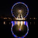 The ferris wheel of Place de la Concorde.