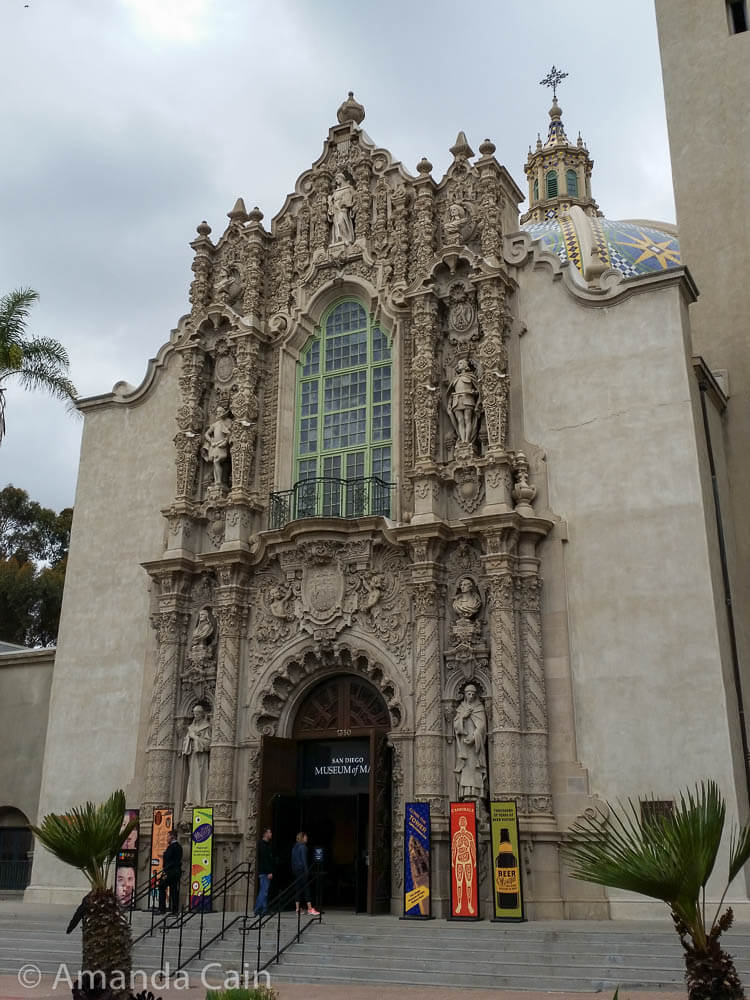 It looks like fancy colonial-era church, but it was built for an exposition in 1915.
