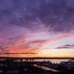 A spectacular San Diego sunset.