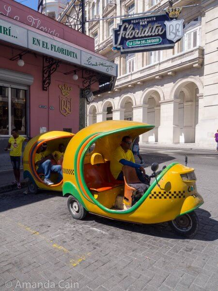 The other way to get around Havana: Coco Cab!