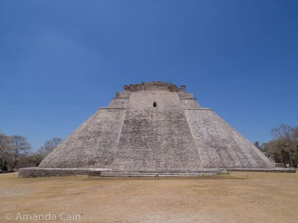 The Sorcerer's House in Uxmal.
