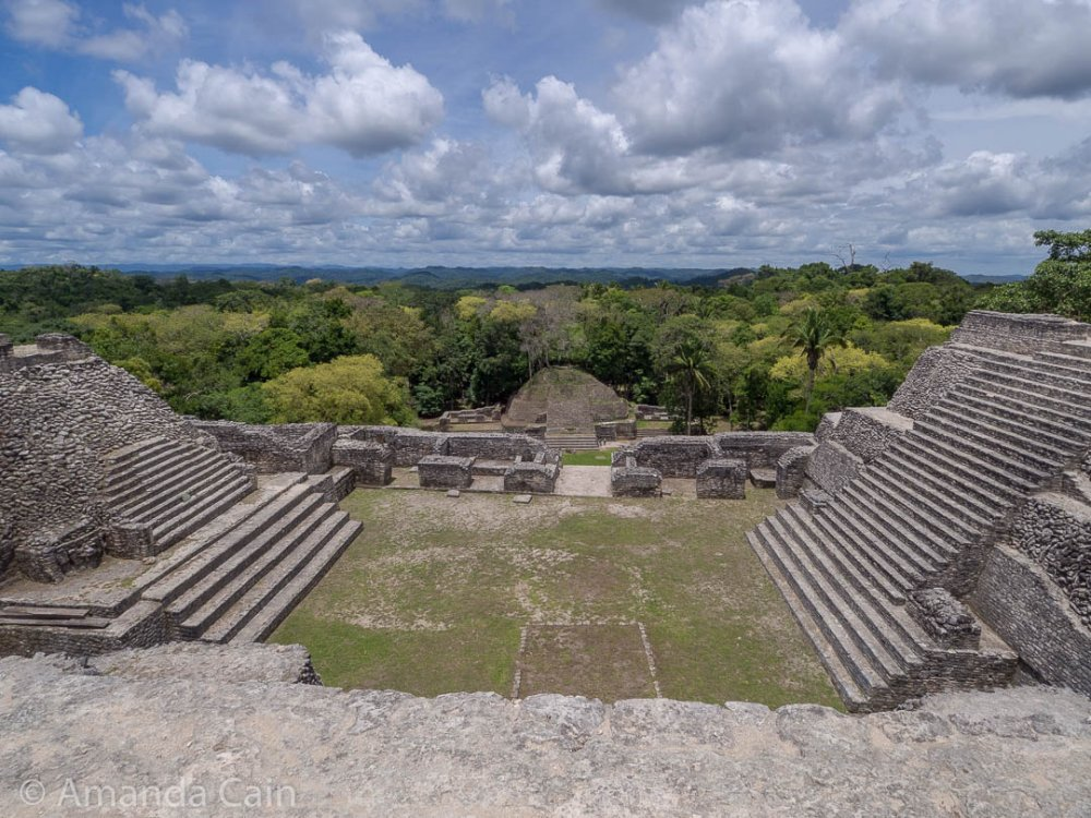 View from the top of the Sky Palace of Caracol.