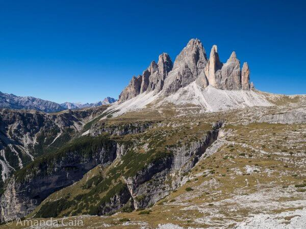 The Tre Cime totally dominating the landscape.