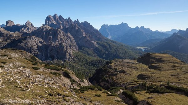 The Dolomites: land of epic mountain scenery.